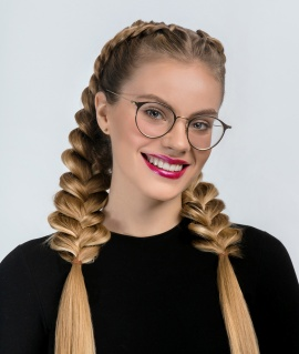 LONG LOCK OF THE HAIR плетение косы